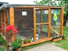 rabbit house-great pics of housing options