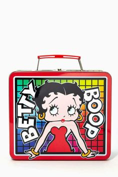 Betty Boop Retro Lunchbox