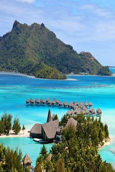 Stunning waters of the Bora Bora. Stunning waters of the Bora Bora. FInd out which beaches should you visit! Places Around The World, Travel Around The World, Around The Worlds, Dream Vacations, Vacation Spots, Romantic Vacations, Italy Vacation, Romantic Travel, Italy Travel