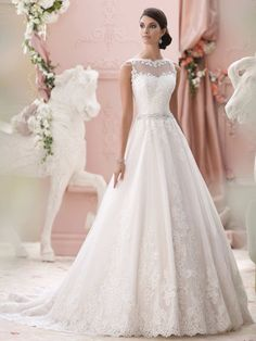 David Tutera (Mon Cheri) Brautkleider 2015 | miss solution - Modell Seraphina by DAVID TUTERA
