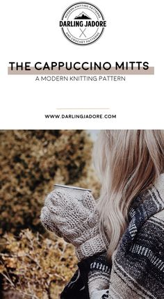 #Knit some beautiful #cableknit #mittens with this #knittingpattern by #darlingjadore for The Woodsy Mitts! #knittingpatterns #cableknitmittens #easyknitpatterns #knitpattern #knittedmittens #knitmittens #knitgloves #knitfashion #knittingpattern #cableknitting #cablemittens #knittedmittens #knitmitts #knitpatterns #beginnerknit #easyknit