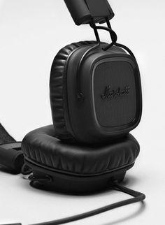 Major Black | Marshall Headphones