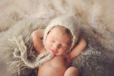 Caramel Angora Baby hats by YinYarnKnitAndSpin on Etsy, $60.00