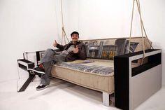 Stencil History X creative sofa