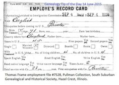 Employment Records?