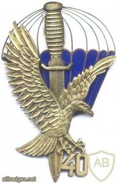 POLAND 62th Special Forces company (62 Kompania Specjalna) badge, 40 years