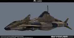 Redesigned vehicle based on the Skydiver from Gerry Anderson's UFO . MAde in 3D MAX , mental ray as render engine ...
