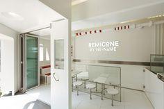 Remicone Ice-cream flagship branding by YNL Design, Seoul – Korea
