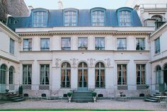 La cour de l'hôtel de Bourrienne
