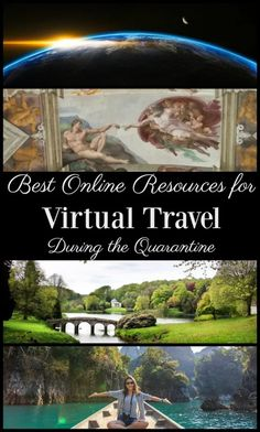 Best Online Resources for Virtual Travel During Quarantine - Postcards & Passports