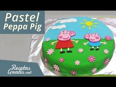 Peppa Pig Cake - How To by Cakes StepbyStep. - YouTube