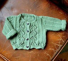 Ravelry: Lacy cardigan pattern by Sirdar Spinning Ltd.