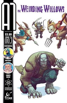 A1 #3 (Weirding Willows) by Sami Basri and Sakti Yuwono. Hitting comic stores on August 7th, 2013.