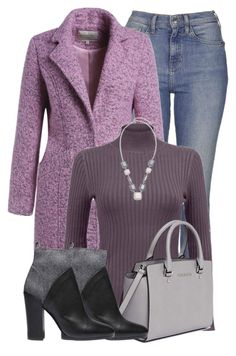 Purples by lchar on Polyvore featuring polyvore, fashion, style, Topshop, Vince, MICHAEL Michael Kors, Chico's and clothing