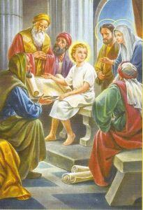 Joyful Mystery #5 - (finding Jesus in the temple)