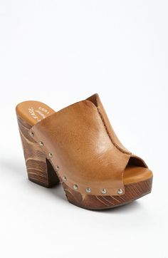 Kork-Ease 'Deanna' Open Toe Mule available at Nordstrom.. Love this brand.. So comfortable. I need these!