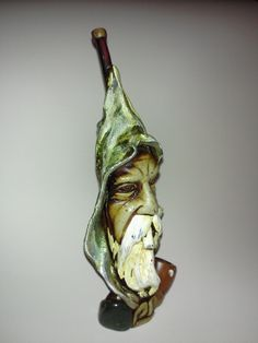 Here's a spectacular smoking pipe that is handcrafted with outstanding details. This old sea fisherman is only $24.95