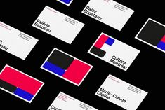 Brand Identity and printed materials for Culture Montréal, an independent group that recognises the fundamental role of culture in the development of Montréal. Design by Studio Caserne.