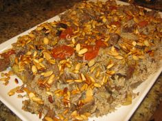 Lebanese Makloubi with Meat Recipe