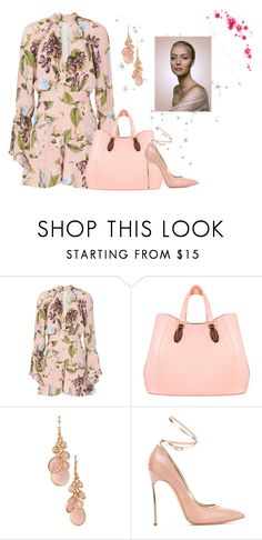 """""""Summer Romper"""" by hanne-xiii ❤ liked on Polyvore featuring Nicholas, Aevha London, Avon and Casadei"""