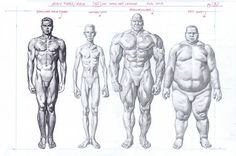 """Original art page from 3D Total's """"Beginner's Guide to Comic Art: Characters' that came out March 2016. This is the original art. Size is approximately 12 x 18 on illustration board"""