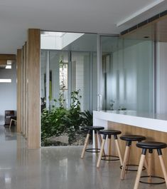 Polished Concrete Floors What To Consider - Hiperfloor Polished Concrete By My Floor - Private Residence Brisbane | designlibrary.com.au