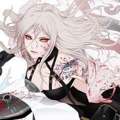 Cool Anime Girl, Beautiful Anime Girl, Anime Art Girl, Anime Guys, Anime Oc, Female Character Design, Character Art, Samurai Art, Estilo Anime