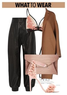 """""""OOTD"""" by dopegeezy ❤ liked on Polyvore featuring Fendi, River Island, Rochas, Givenchy and Jeffrey Campbell"""