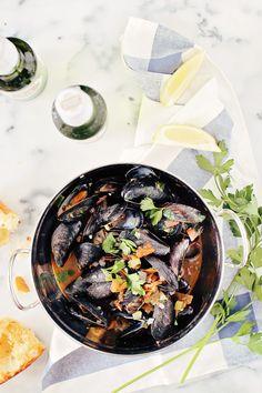 Steamed Mussels in Beer
