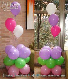 Decoración Fiesta haditas, mariposas y flores www.happy-occasions.com