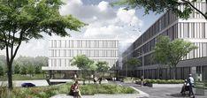 SHL – New Hvidovre Hospital Engineering Consulting, Wuxi, Aarhus, Green Garden, Garden Spaces, Under Construction, Schmidt, Pediatrics, Denmark