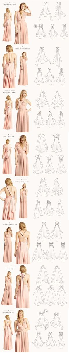 How to tie an infinity dress . How to tie an infinity dress Infinity Dress Bridesmaid, Bridesmaid Dresses, Maxi Dresses, Maxi Skirts, Wedding Dresses, Wrap Dresses, Dress Prom, Bride Dresses, Modest Dresses