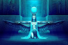 An Audience With The Goddess Divine Goddess, Isis Goddess, Mother Goddess, Goddess Art, Egyptian Goddess, Egyptian Queen, Egyptian Art, Buddha, Egyptian Mythology