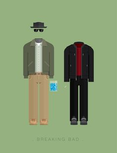 Epic Breaking Bad Art, Walter and Jesse