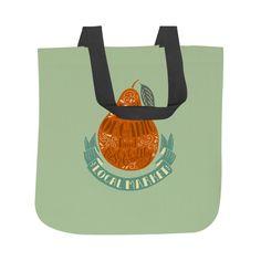 Organic Food Tote Bag