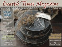 Free Crafting magazine with articles, DIY and free patterns.