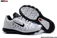 2013 New Mens Nike Air Max 2011 Summit White Black Sneakers Fashion Shoes Store