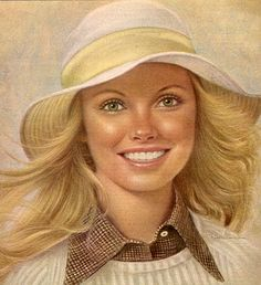 Ralph William Williams / One of the Breck Girls. The advertising theme of the Breck Girls was one of the most successful and long running themes in advertising history.