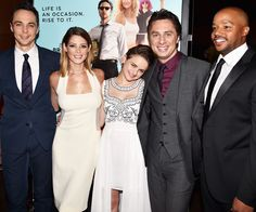 "Jim Parsons, Ashley Greene, Joey King, Filmmaker/actor Zach Braff and Donald Faison attend ""Wish I Was Here"" premiere"