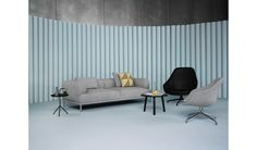 HAY - About A Lounge Chair Low AAL 83 - Steelcut Trio 144 - Eiche klar lackiert