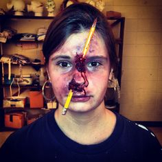 Halloween makeup!!