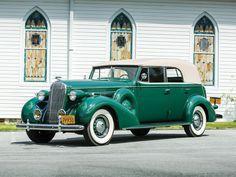 1936 Buick Roadmaster - Convertible Phaeton |  authorbryanblake.blogspot.com.