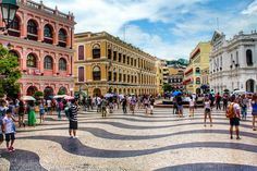 Macau is only sq. in area, which is slightly smaller than my hometown. Macau might be small, but that just means you can do and see a lot in a short amount of time. Macau, Las Vegas, Historical Landmarks, Life Is A Journey, China, Touring, Travel Tips, Street View, Paris