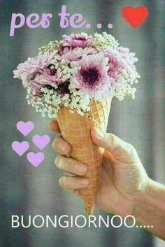 per te buongiorno fiori