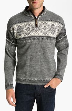 Dale of Norway 'Blyfjell' Quarter Zip Wool Sweater | Nordstrom