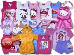 Nový tovar v ponuke od 06.07.2014 - Detské oblečenie Disney, Hello Kitty, Monster High, Losan.. - Internetový obchod - benatti.sk