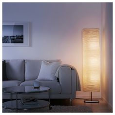 IKEA - HOLMÖ, Floor lamp, white, Gives a soft mood light. Use an opal light bulb if you have an ordinary lamp shade or lamp and want an even, diffused distribution of light. Terrazzo Flooring, Slate Flooring, Wooden Flooring, Loft Flooring, Ceramic Flooring, Flooring Options, Flooring Ideas, Bathroom Flooring, Vinyl Flooring