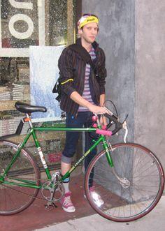 Chicago Bike Messenger Look