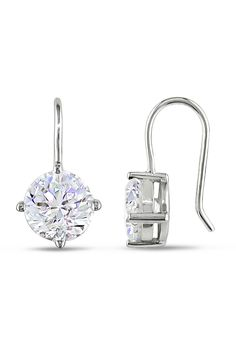 d19838b970683 194 Best Solitaire earrings images in 2013 | Solitaire earrings ...