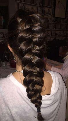 Love this Dutch braid